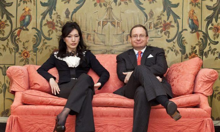 Mie Iwatsuki (L) and Ralph McElvenny, principals of Sumitomo International Realty in New York. (Courtesy of Sumitomo Real Estate Sales NY)