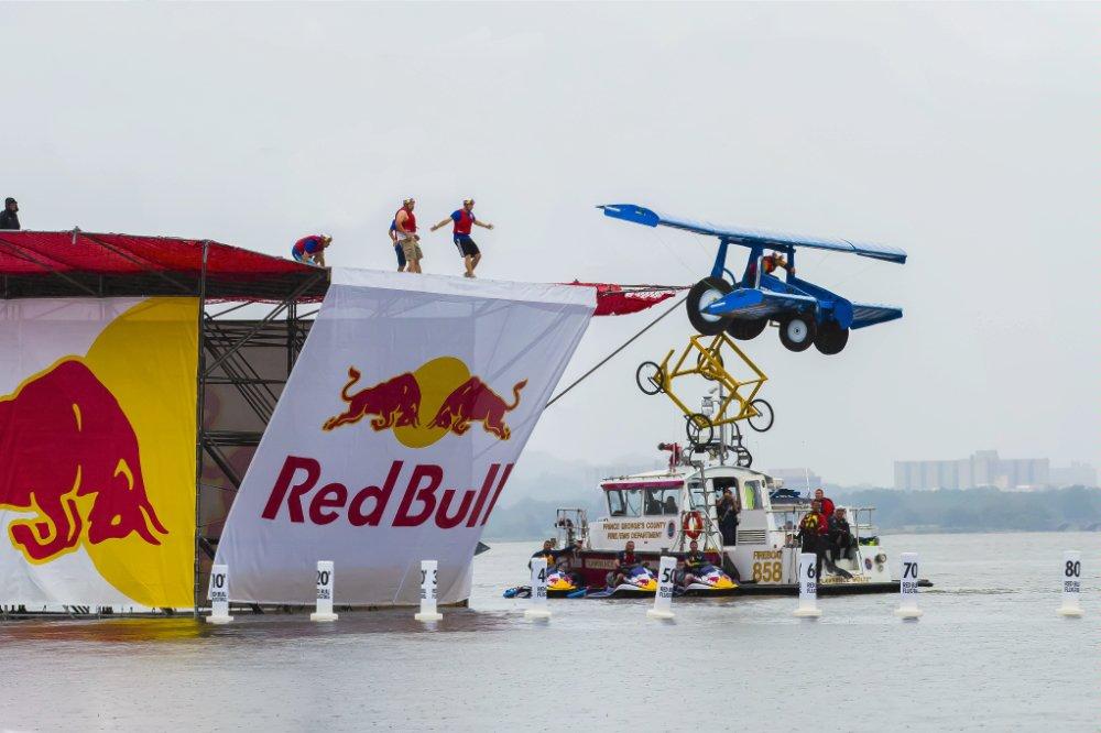 Teams Attempt Flight at National Red Bull Flugtag