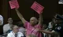 Code Pink Protesters Disrupt US Senate Hearing on Syria