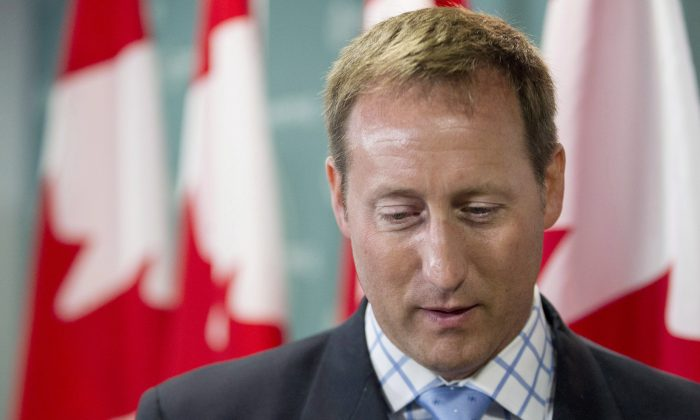 Justice Minister Peter MacKay. A new coalition have been formed to watch out for Canadians' privacy amidst mounting concerns over online government surveillance and fears that MacKay is planning to reintroduce Bill C-30. (The Canadian Press/Chris Young)