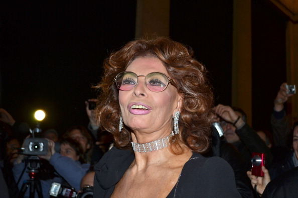 Italian actress Sophia Loren arrives to attend the Spring-Summer 2011 Haute Couture Collection Show on Jan. 24, 2011, in Paris. A court ruling in Italy this week has put an end to a 39-year legal dispute between Oscar-winning film star Sophia Loren and Italian tax authorities. (Anne-Claire Mackenzie/AFP/Getty Images)