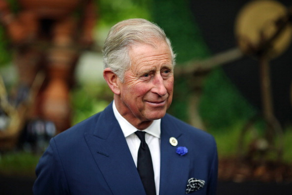 Prince Charles, Prince of Wales speaks to guests during a reception to celebrate the 21st anniversary of Duchy originals products at Clarence House on Sept. 11, 2013, in London, England.  (Dan Kitwood/Getty Images)
