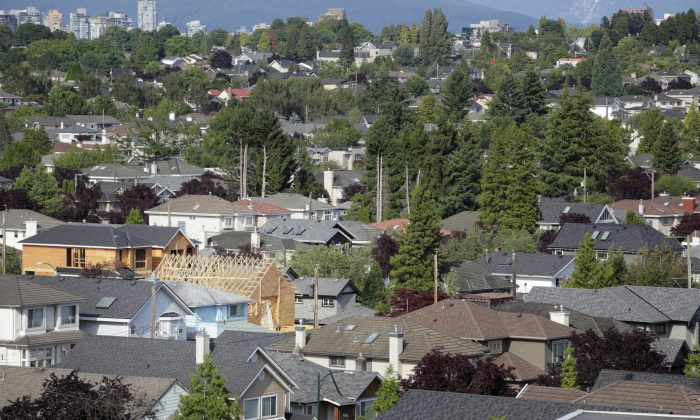 A view of residential properties in Vancouver. Recently released Canadian housing market figures are staggering for Vancouver as compared to the numbers for the rest of the country: Year-over-year sales are up 64.3 percent, and from August to September they're up 6.7 percent. (Temmuz Can Arsiray/Photos.com)