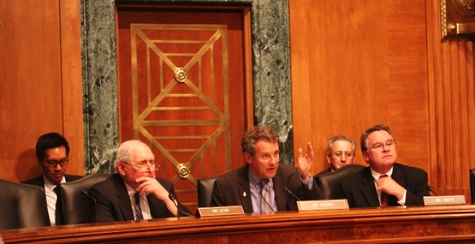 The Congressional-Executive Commission On China. Pictured is a committee hearing on Chinese Hacking: Impact on Human Rights and Commercial Rule of Law June 25, 2013. (CECC)
