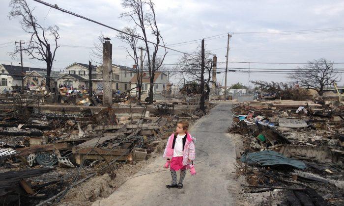 "Jennifer Cheswick, ""LOSS,"" Nov. 10, 2012. (Courtesy of MCNY)"