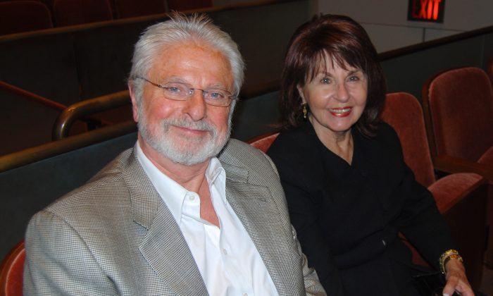Paul and Phyllis Peterson loved the music of the Shen Yun Symphony Orchestra at the Morton H. Meyerson Symphony Center, in Dallas, Tuesday evening. (Catherine Yang/Epoch Times)