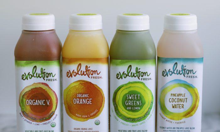 Evolution Fresh juices. (Courtesy of Evolution Fresh)