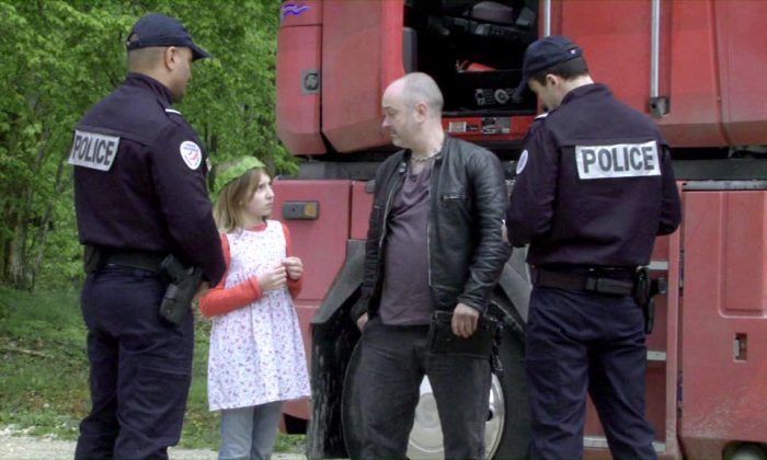 Lou-Lélia Demerliac and Douglas Gordon make an odd pair in 'My Name Is Hmm…' (via New York Film Festival)