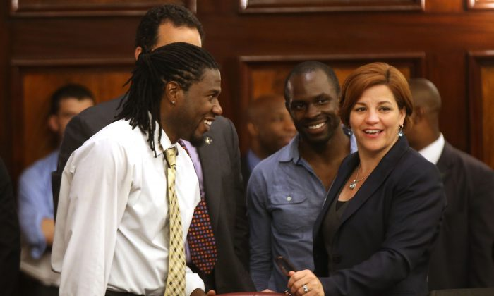 """City Councilman Jumaane Williams on Aug. 23, 2013. He is in support of the proposed Council reforms. """"Many of these things have been problematic throughout many speakerships, throughout many years,"""" Williams said. (Spencer Platt/Getty Images)"""
