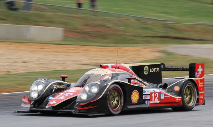 The Rebellion Lola was consistently quickest during the three days of test at Road Atlanta, preparing for Saturday's ALMS Petit Le Mans. (Chris Jasurek/Epoch Times)