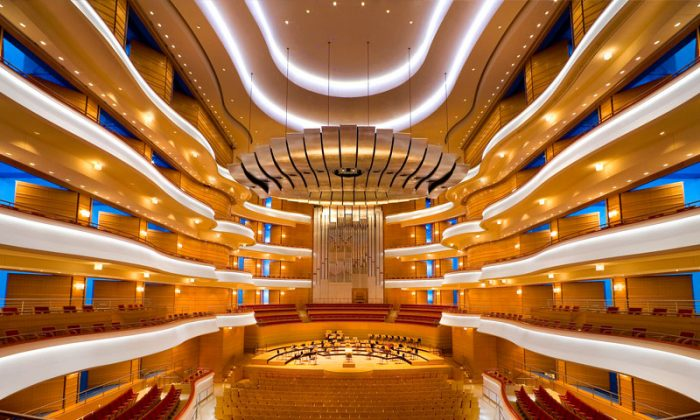 The Renee and Henry Segerstrom Concert Hall, where Shen Yun Symphony Orchestra will be performing October 18 and 19. (Courtesy of Segerstrom Center for the Arts)