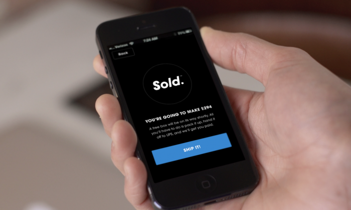 The Sold. app makes it easy for you to sell things without the hassle of eBay or other services. (Courtesy of Sold.)