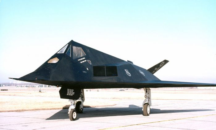 F-117. (National Museum of the United States Air Force)