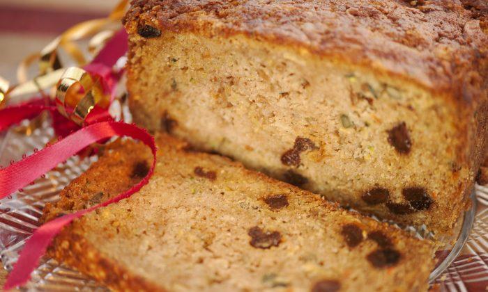 Zucchini Fruit Bread (Cat Rooney/Epoch Times)