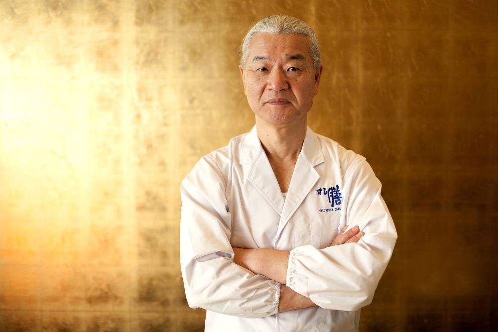 Toshio Suzuki, owner and chef of Sushi Zen. (Samira Bouaou/Epoch Times)