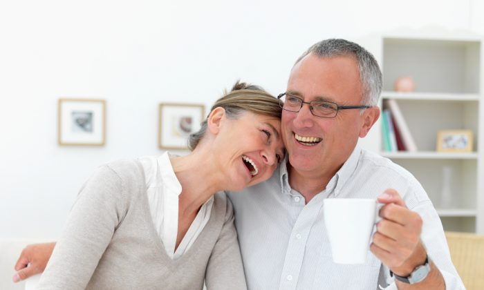 Laughter helps keep you healthy. (Yuri Arcurs /Fotolia)