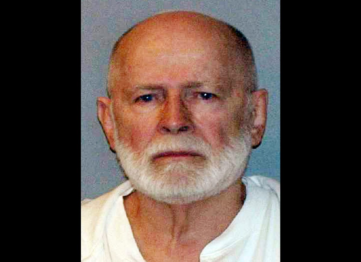 "This June 23, 2011 booking file photo provided by the U.S. Marshals Service shows gangster James ""Whitey"" Bulger. (AP Photo/ U.S. Marshals Service, File)"