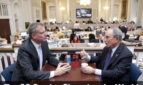 Top 20 Stories of 2013 – No. 17: New York's New Progressive Mayor