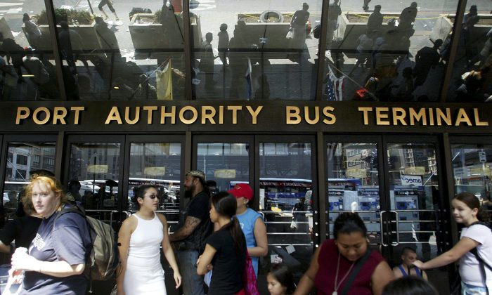 A file photo of the Port Authority Bus Terminal. (Mario Tama/Getty Images)