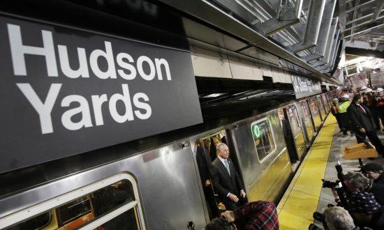 Mayor Bloomberg Takes Inaugural Ride on 7 Train