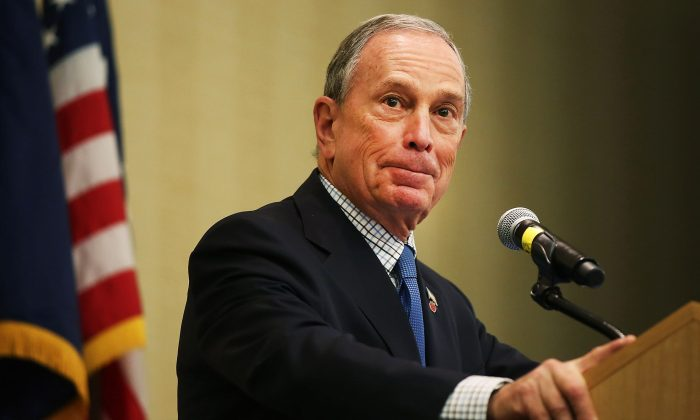 As the mayor of New York City for 12 years, Michael Bloomberg used hard data to drive policymaking, especially when it came to New Yorkers' health. (Spencer Platt/Getty Images)