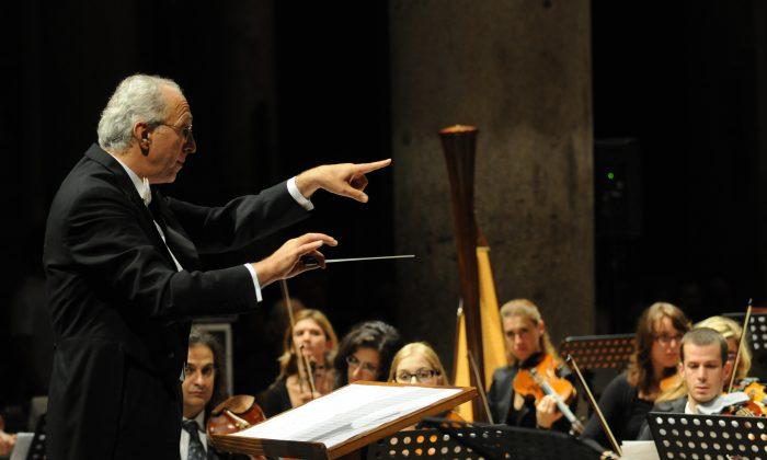 Giorgio Fabbri conducting. (Courtesy of Giorgio Fabbri)