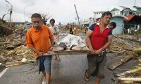 Typhoon Haiyan/Yolanda's Official Fatality Count Nearing 6,000