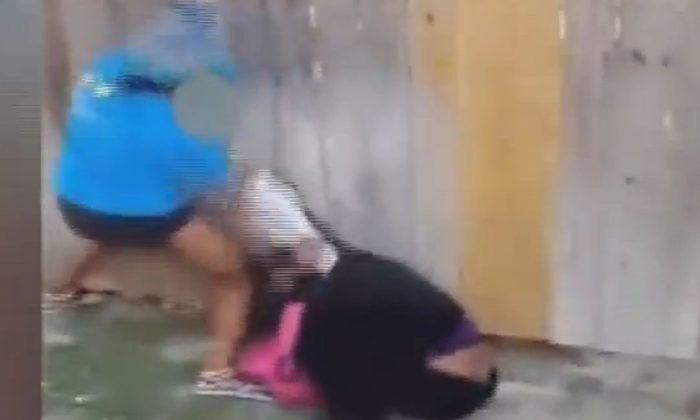 A screenshot of a YouTube video shows the fight video.