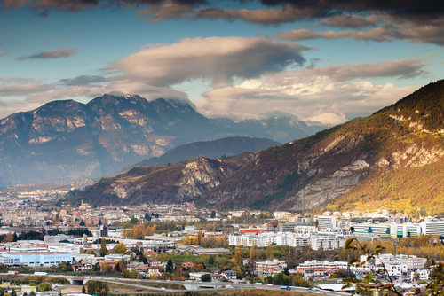 Trento, Italy, rated the country's most liveable city. (Shutterstock*)
