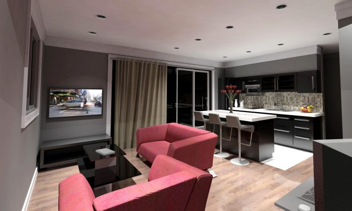 An artist's rendition of The Euro Star condo apartment model. (Campanale Homes)