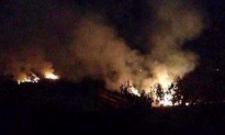 Military Helicopter Crashes in Eastern China, Causing Forest Fire