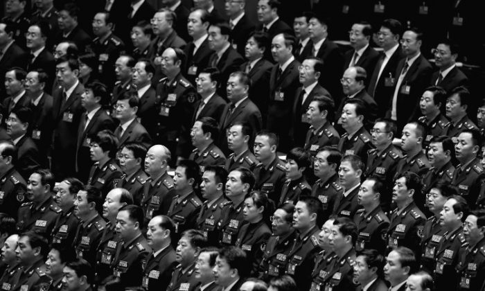 Chinese officials in a 2012 file photo. (Feng Li/Getty Images)