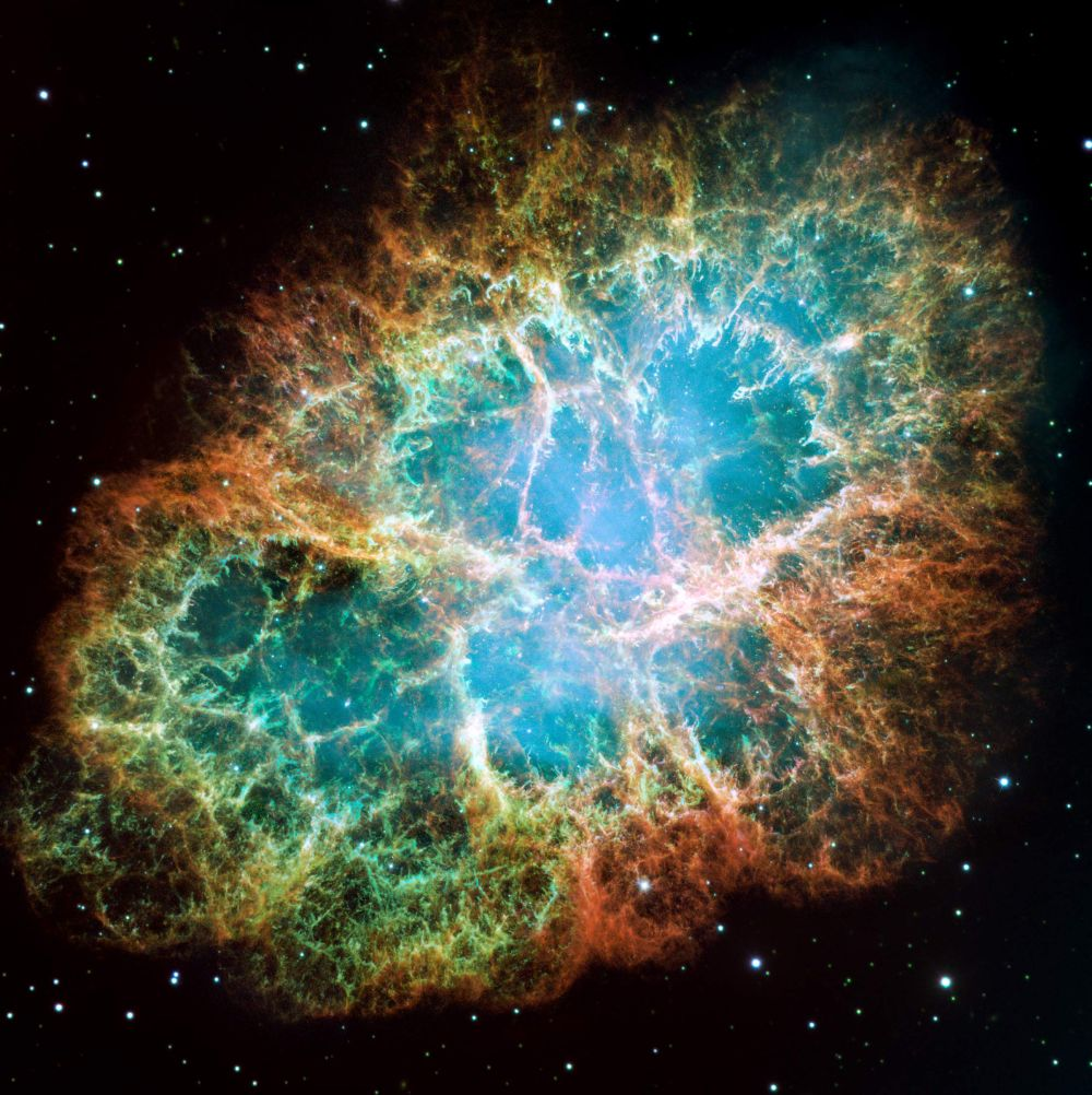 Crab Nebula: Noble Gas Molecule Found in Crab Nebula--a First in Space, Say Researchers