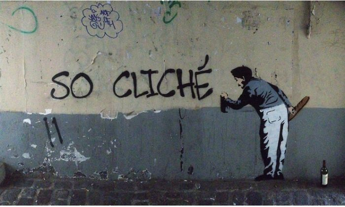 Is this Banksy? (Screenshot from banksy-paris.com)