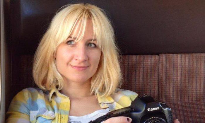 Katarina Hybenova, founder of Bushwick Daily. (Courtesy of Katarina Hybenova)