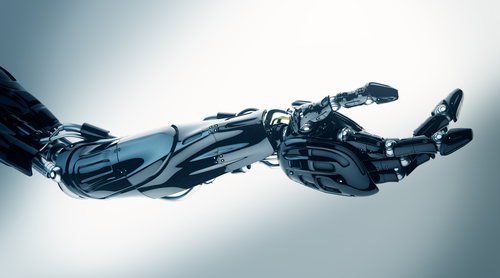 A file photo of a robotic arm. Robots already exist to do at least part of the jobs of security guards, life guards, spies, cleaners, and homecare aides. (Shutterstock*)