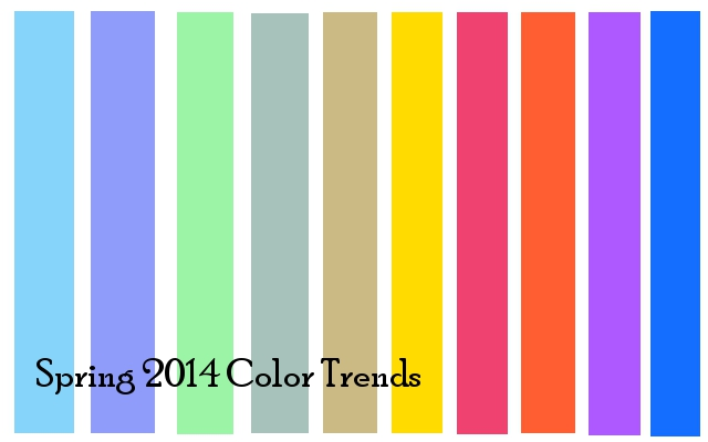 spring 2014 color fashion trends what colors suit you