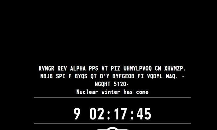 (Screenshot of the Survivor 2299 site)