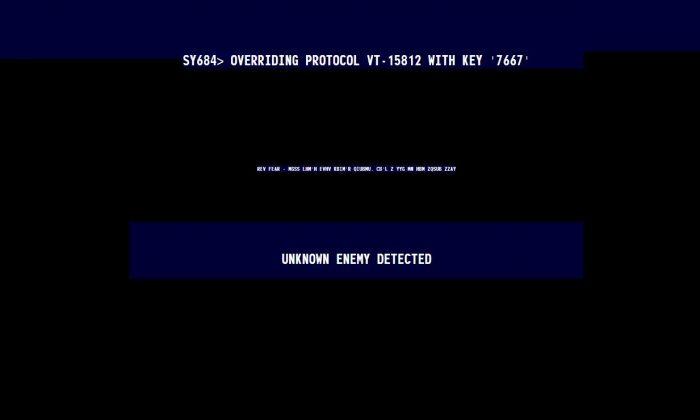A screenshot shows the cursor-highlighted hidden website in the Survivor 2299 domain.