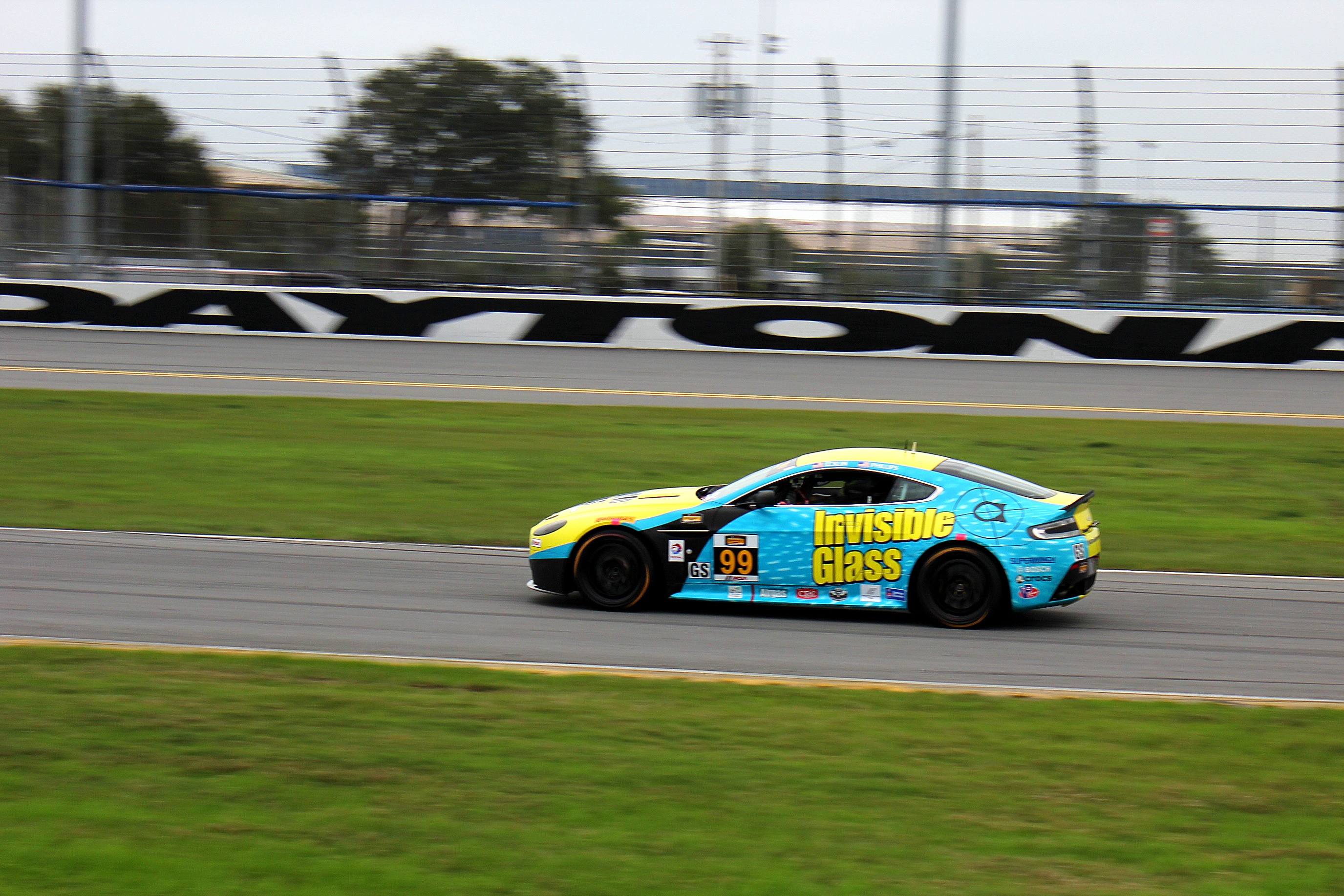 The very competitive Continental Tire Sports Car Challenge, featuring American muscle cars like the Mustang and Camaro racing European entries like BMW, Aston Martin and Porsche, will kick off its 2014 season at Daytona on Saturday, Jan. 25. The race is included in Rolex 24 ticket price. (Chris Jasurek/Epoch Times)