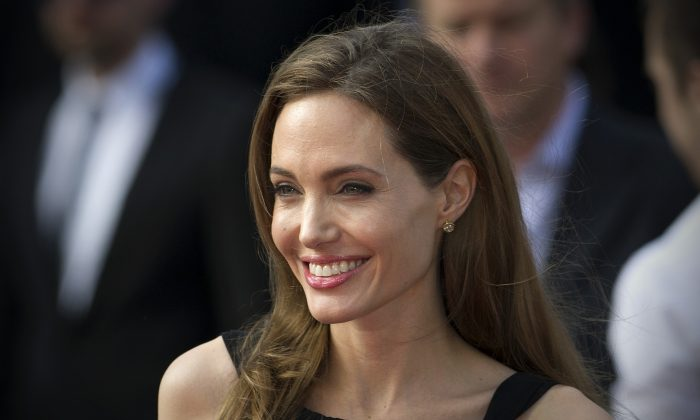 U.S. actress and humanitarian campaigner Angelina Jolie in the UK, June 2013. (Carl Court/AFP/Getty Images)
