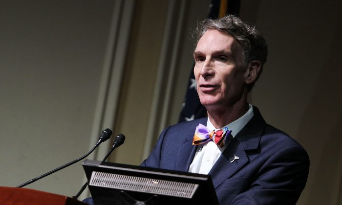 Bill Nye at The Library of Congress on Nov. 12, 2013. (Paul Morigi/Getty Images)