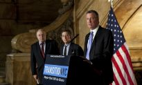 Slower Than Usual, de Blasio's Transition on Point