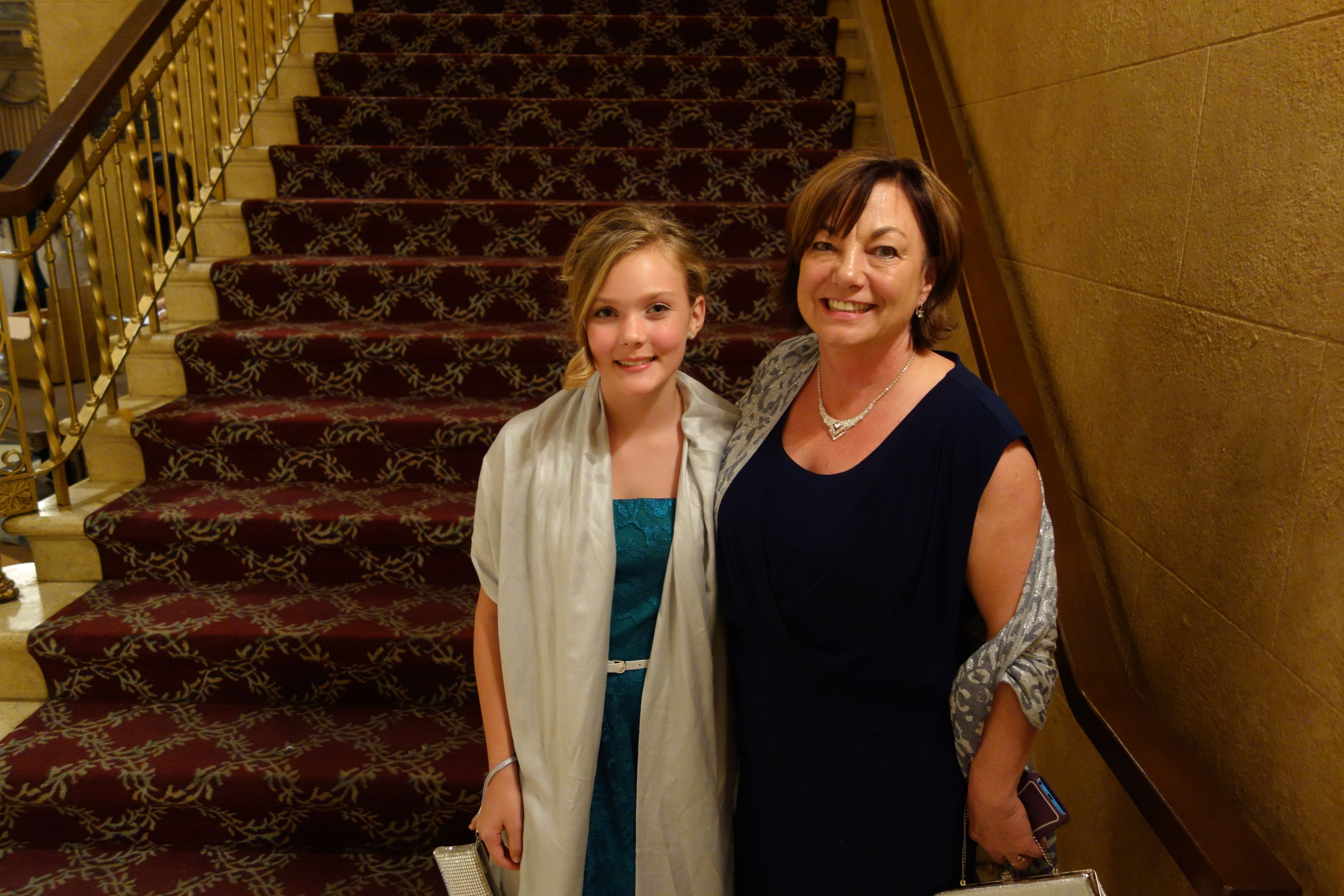 Young Saxophonist Respects Shen Yun Orchestra