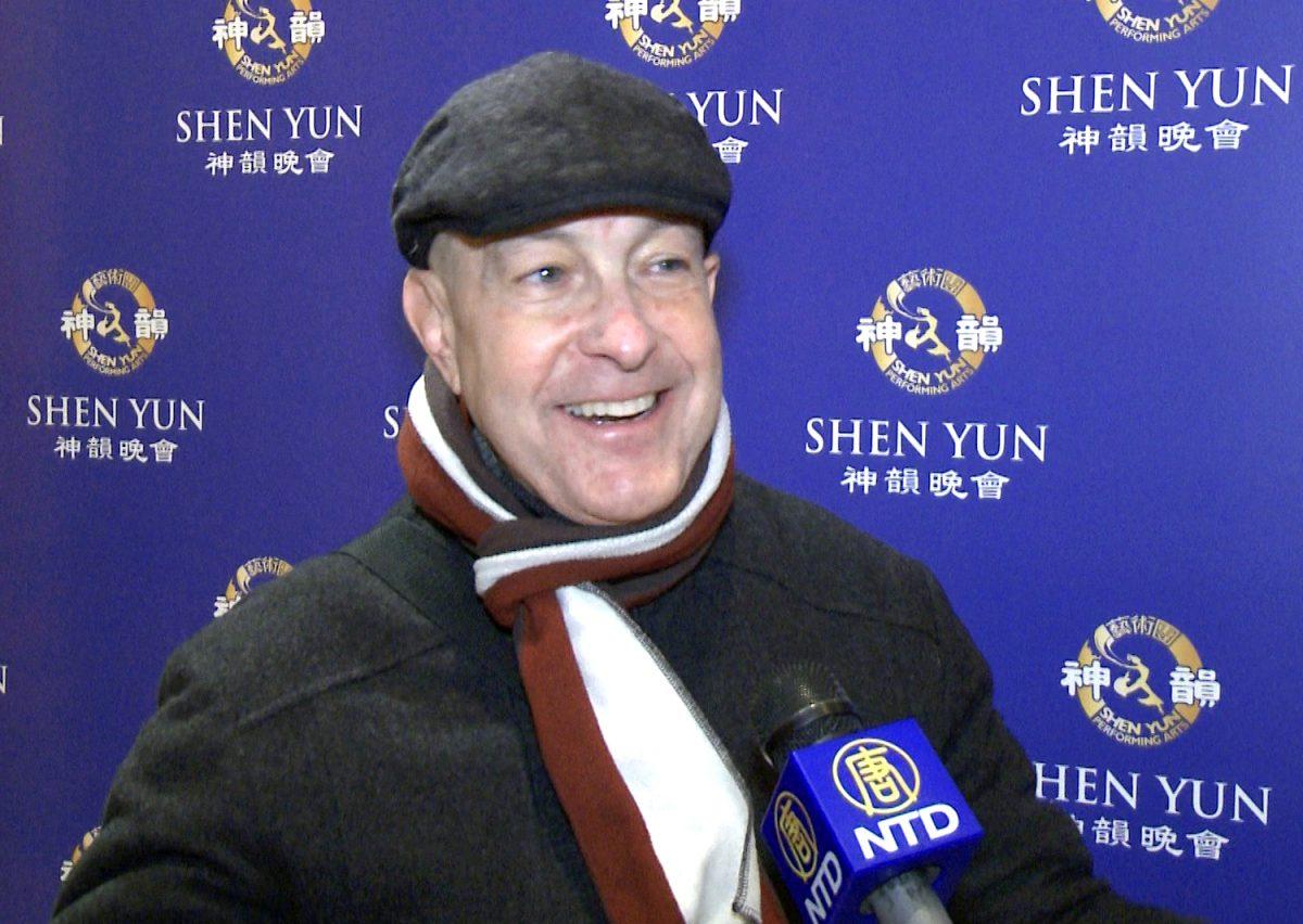 Actor Richard Sacher Says Shen Yun Absolutely Phenomenal