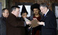 De Blasio to Be Sworn in as Mayor in City Hall Ceremony