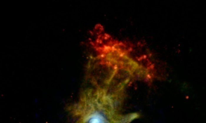 'Hand of God' Image Captured by Space Telescope (+Photo)