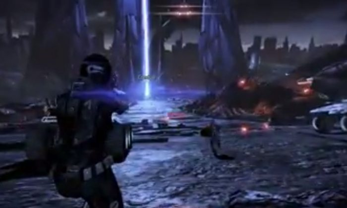 Mass Effect 4 could come to the Xbox One and PS4, a report has said. A screenshot of YouTube shows 'Mass Effect 3.' (Youtube)