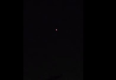 UFO Sightings in California on New Year's Eve