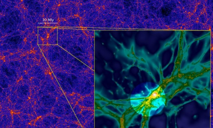 Astronomers Wonder at Sight Never Seen Before—The Web That Holds Galaxies Together (Photo)